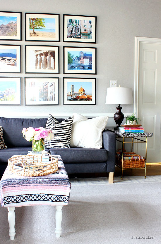 Hi Sugarplum | Family Room Reveal