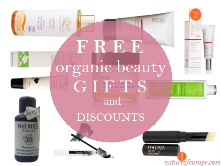 Weekly Discounts and Free Organic Beauty Gifts #12