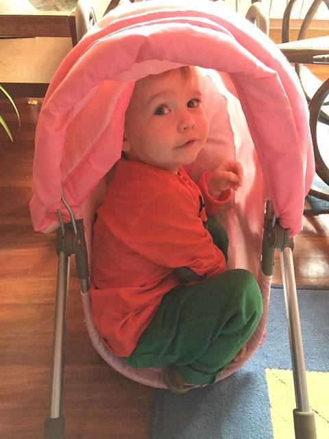 Big Sister's Baby Stroller