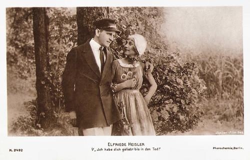 Elfriede Heisler in Ich hab dich geliebt bis in den Tod (1918)