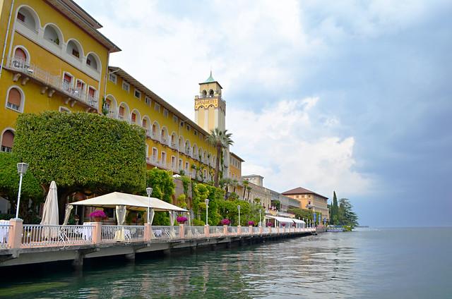 Grand Hotel, Gardone Riviera, Lake Garda, Italy