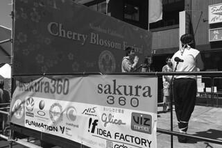 Cherry Blossom Festival - Sakura 360 stage