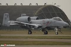 81-0992 DM - A10-0687 - USAF - Fairchild A-10C Thunderbolt II - Lakenheath, Suffolk - 150319 - Steven Gray - IMG_5495