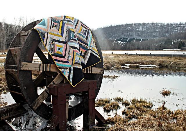 Waterwheel + Quilt