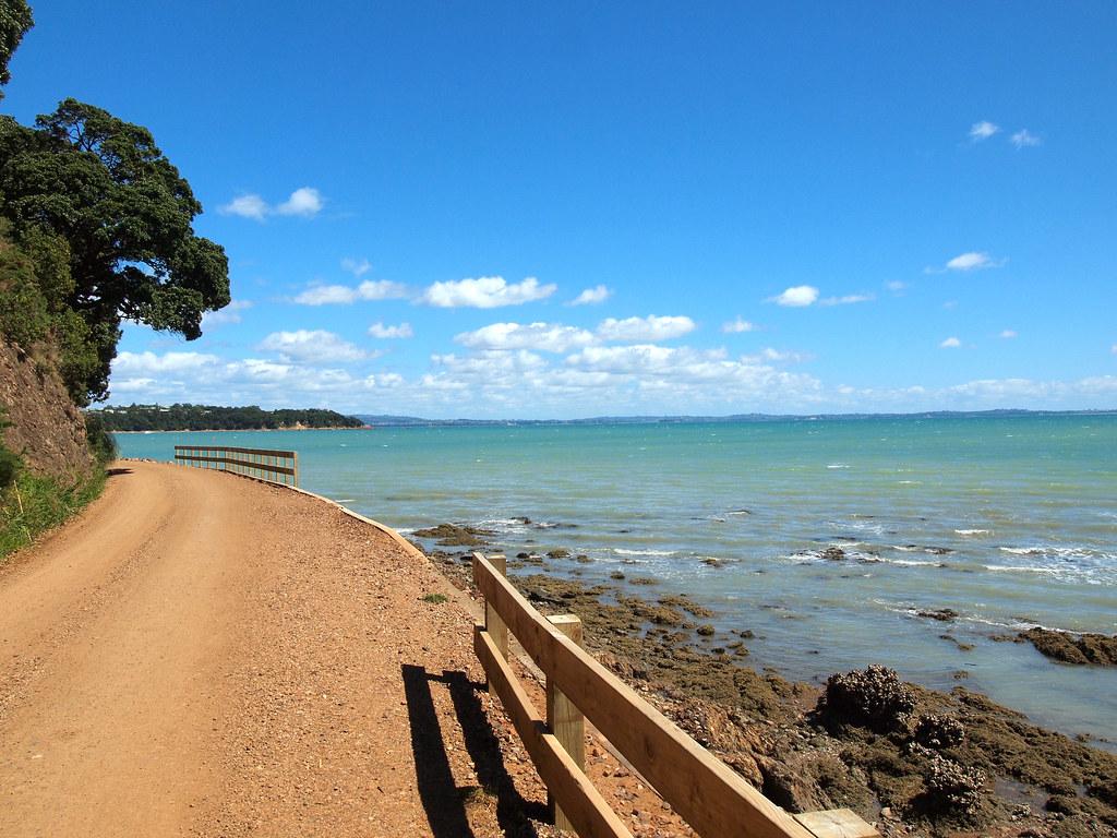 Waiheke Island road