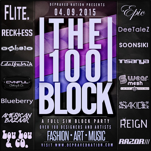 The 100 Block Flyer - 2015