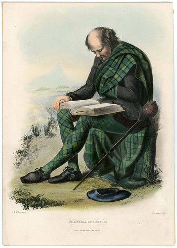 003-Clans of the Scottish Highlands-Plate 003-The Metropolitan Museum of Art-Thomas J. Watson Library