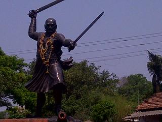 Baji Prabhu Deshpande statue