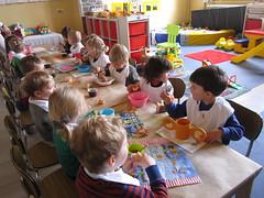 15.03.31 Sobere maaltijd in de kleuterklassen