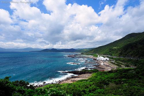 東北角龍洞海洋公園。圖片來源:黃基峰