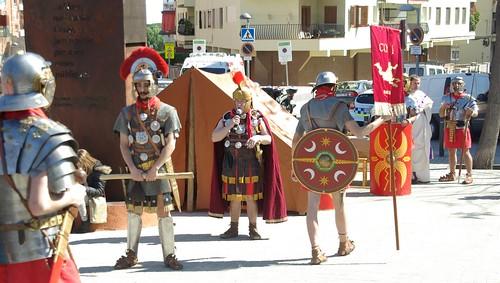 Legionaris romans de Barcino Oriens a Premià de Mar (centurio Ricardus Lupus)