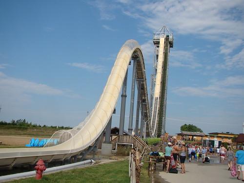 Verruckt at Schlitterbahn Kansas City Waterpark