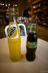 Las Vegas Coca Cola Store Fanta Pineapple and Coke…