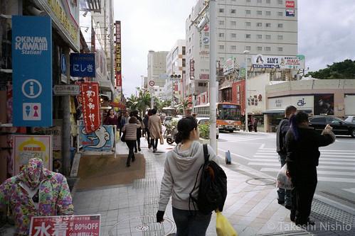 国際通り / Kokusai-dori street