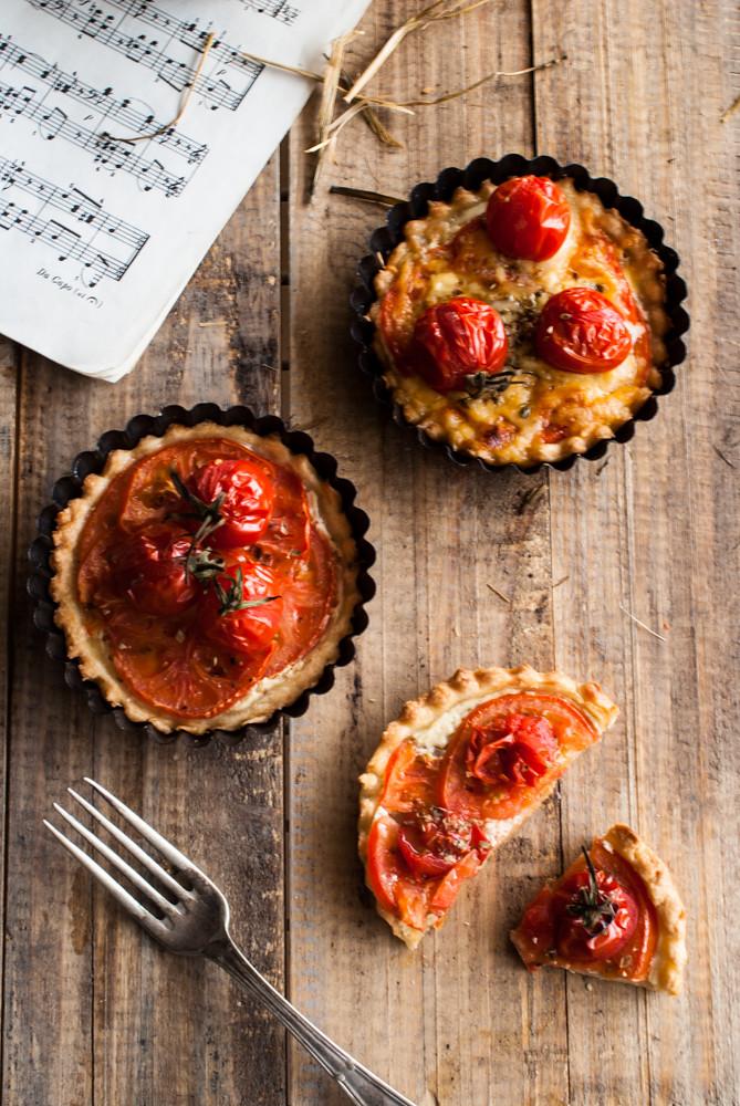 Tartaletas de tomate