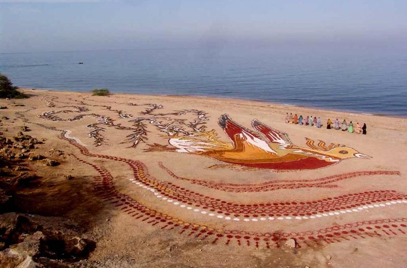 Hormuz Island carpet