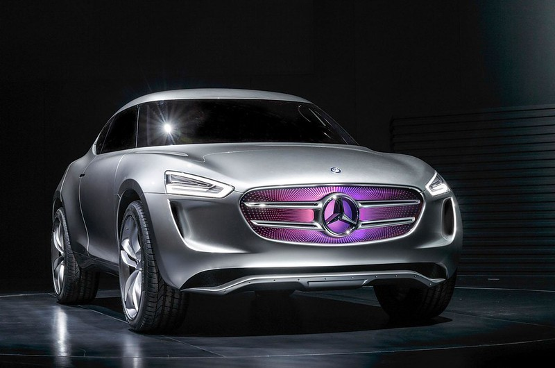 Новый Mercedes-Benz G-Code