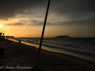 Sunset in Canasvieiras, Brasil