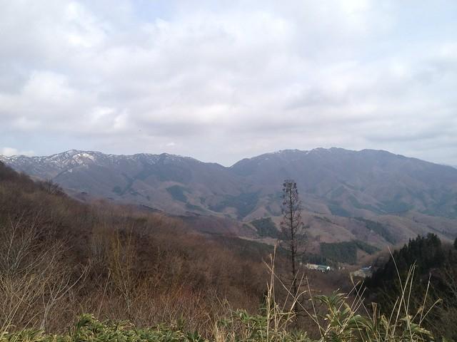 国見峠からの眺望