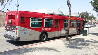 LACMTA Metro Rapid New Flyer C-40LF #5502