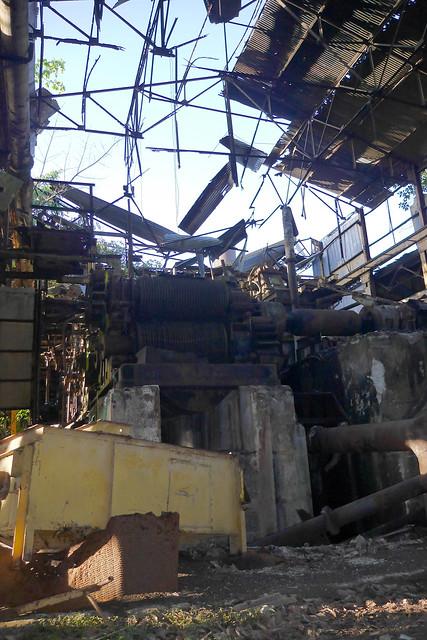 Retour dans l'usine désaffectée de Grosse Montagne