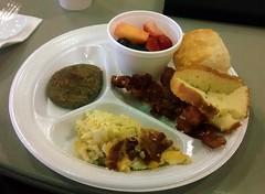 Breakfast Plate Easter Morning.