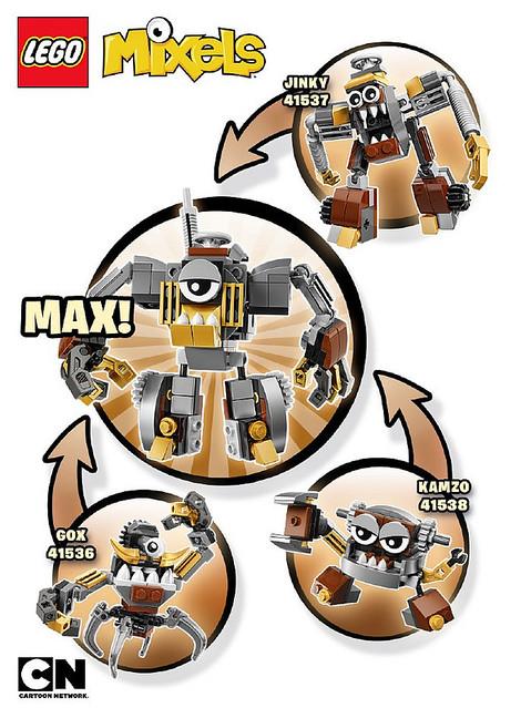 lego mixels series 9 instructions