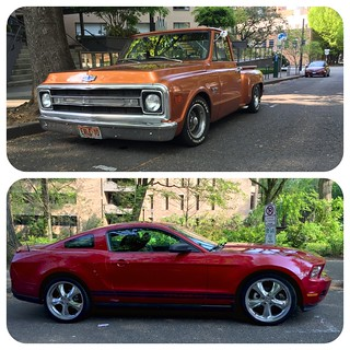 Old vs new. Which do you like better? Portland 2015