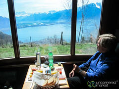 GoldenPass Classic, eating in style - Montreux, Switzerland