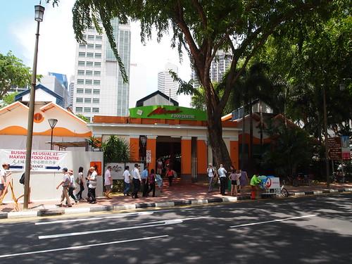 P4178992 Maxwell Food Centre(マックスウェル・フードセンター) シンガポール
