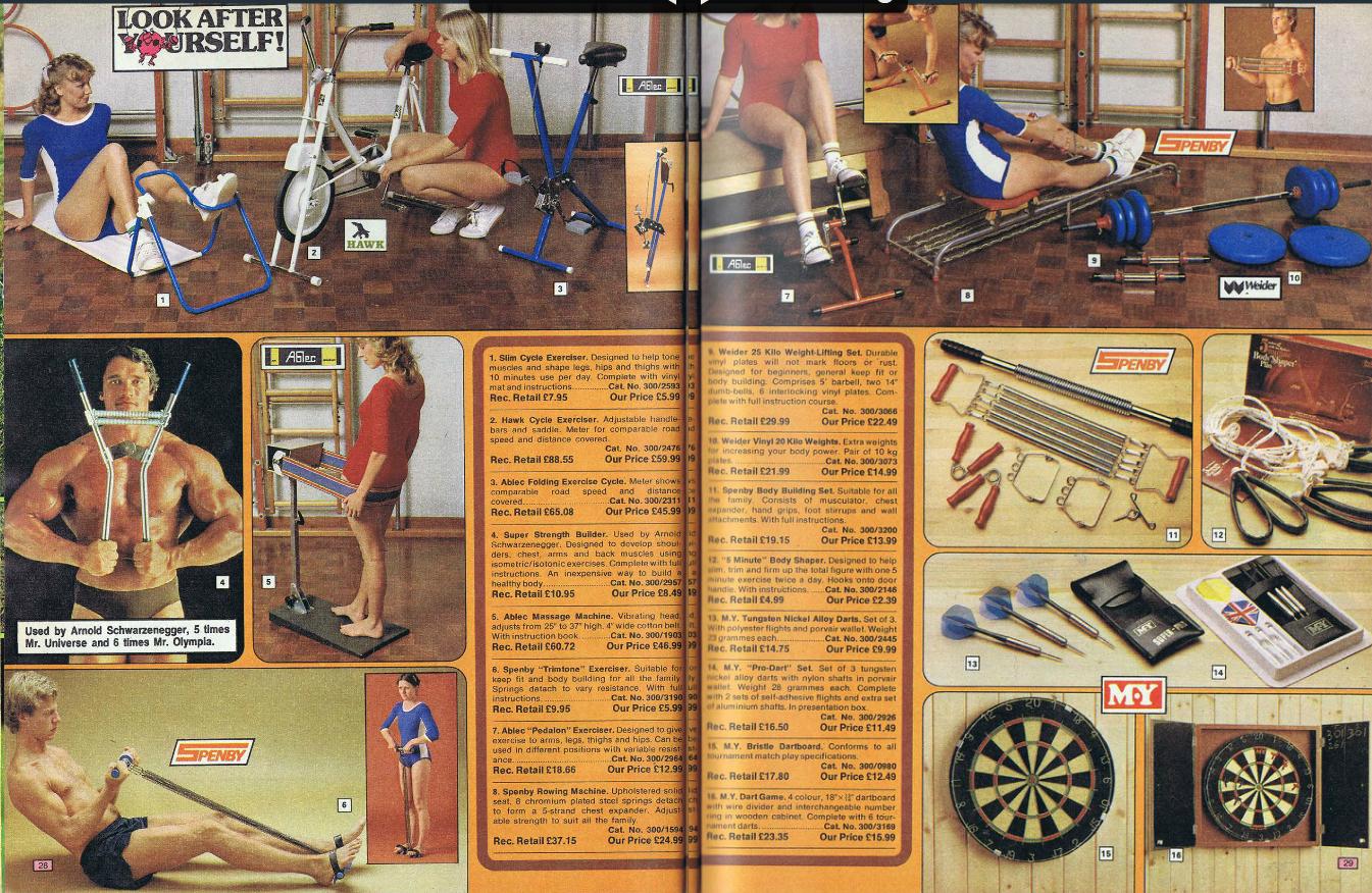Retrospace Catalogs 38 Argos Catalogue Babes 1978 1981
