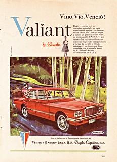 1962 Valiant V200 Ad (Argentina)