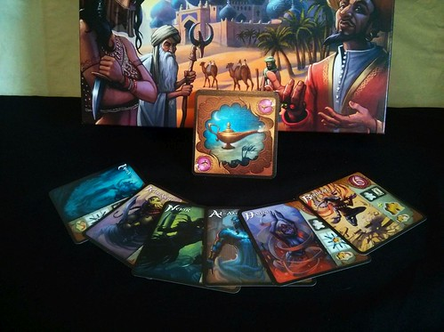 20 Five Tribes Djinn Cards