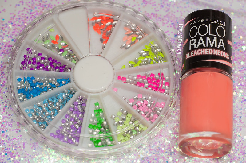 Bleached neons & neon studs