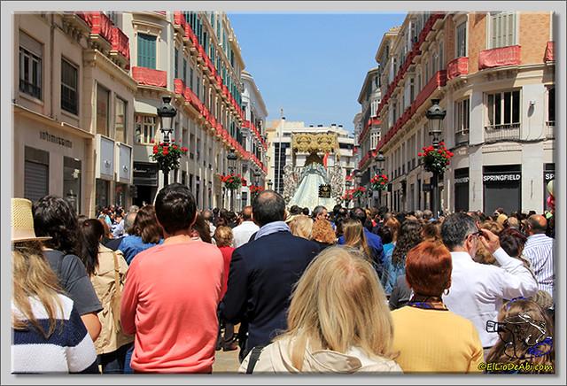 Semana Santa en Málaga. La Alameda y Calle Larios (8)