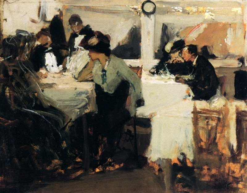 Cafe De Paris by Richard Edward Miller