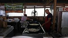 Sunday Market at Wat Mongkolratanaram Buddhist Temple, Tampa, FL