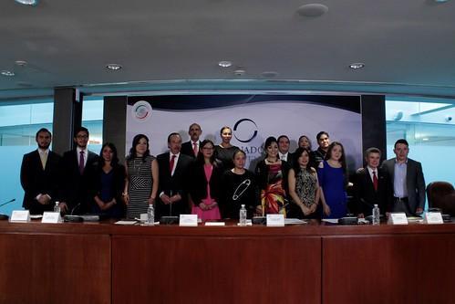 El día 18 de julio del 2016 se llevó a cabo en el Senado de la República la clausura del programa Senado Joven.