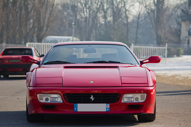 Cars & Coffee Paris 02/2012 - Ferrari 512TR