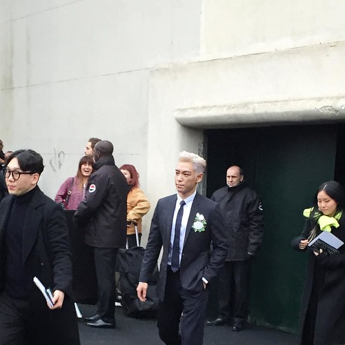 TOP - Dior Homme Fashion Show - 23jan2016 - octariayang - 01