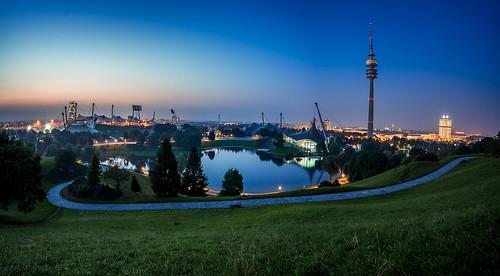 Good Night Munich from Toni Hoffmann