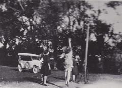 Basketball in Willunga, 1926.