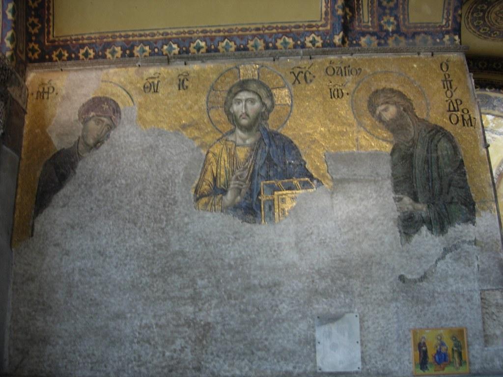 Cristo dentro de Santa Sofia