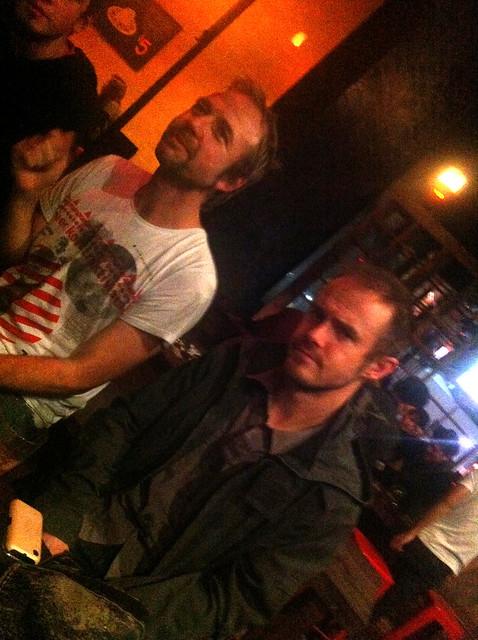 Scott's Farewell: Yikes & Scott looking scowly