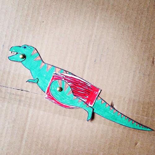 Bent, de dinosaurus