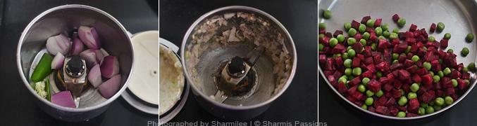 How to make capsicum rice - Step1