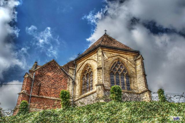 Church of Saint Agatha @ Berlingen, Wellen.