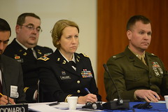 army, official, military person, news conference, person, military officer,