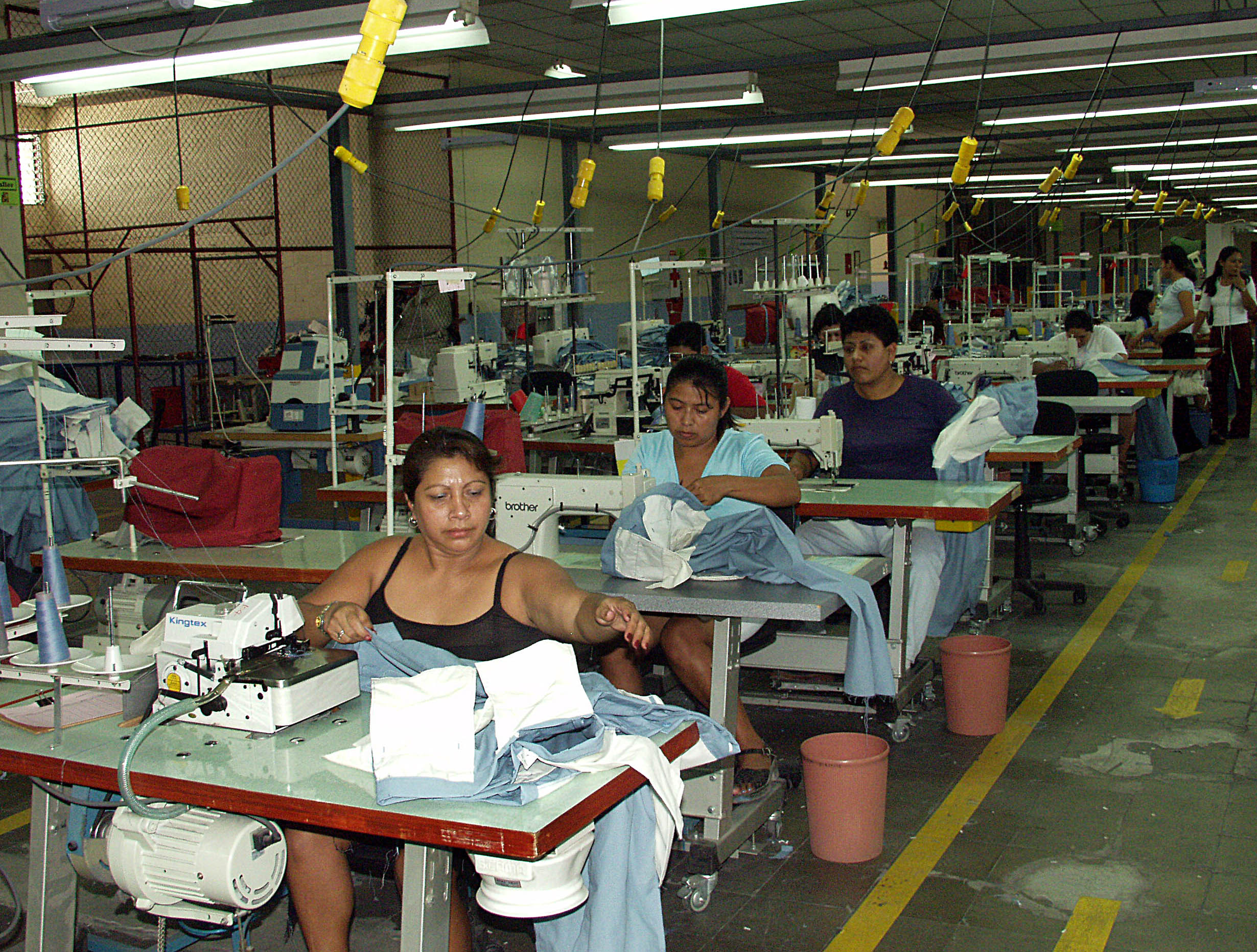 the maquiladora Ten years ago when mexico's maquiladora (twin plant) industry was  experiencing 20 percent annual gro.
