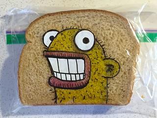 Yellow Smiling Creature